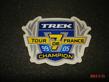 1 TREK TOUR DE FRANCE ROAD RACING X7 CHAMPIONS STICKER / DECAL / AUFKLEBER