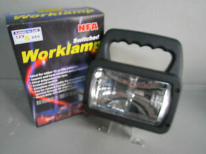SWITCHED WORK LIGHT - NEW & BOXED - GLOBE TYPE - AUTO ELEC SALE
