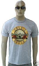 Amplified Guns N 'Roses Rock Star Vintage T-Shirt G. S/M grigio melange logo di culto