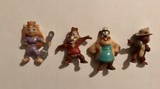 Lot of Vintage 1985 Kelloggs Disney Afternoon PVC Figures - Chip n Dale
