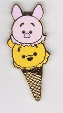 DISNEY HKDL pin 2016 TSUM TSUM  ICE CREAM cornet : winnie & porcinet