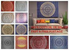 OMBRE Wall Hanging Mandala Tapestry Bohemian Boho HIPPY ART Room Decor Bedspread