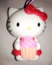"""White 3"""" HELLO KITTY Trinket Box Ornament Figurine"""