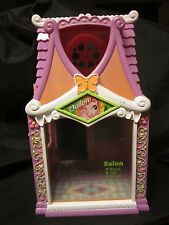 "MY LITTLE PONY G3 Celebration Salon Spa Hair Pink 2 Story Playset Hasbro 10.5"" C"