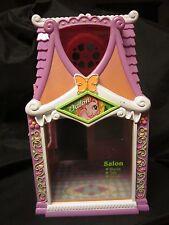 "MY LITTLE PONY G3 Celebration Salon Spa Hair Pink 2 Story Playset Hasbro 10.5"" C"