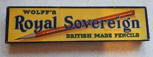 12 Vintage Wolff's royal sovereign Pencils HB Boxed from new