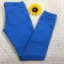 Dollhouse Womens Skinny Jeans Size 7 Stretch Light Blue Denim fr520