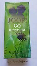 Joop Go Electric Heat 100ml/ 3.4oz EDT Spray Mens Perfume Sealed Box Limited