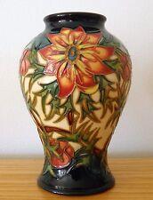 Moorcroft ~ Spike VASO by Rachel Bishop 16.5 cm 1998 prima qualità in scatola