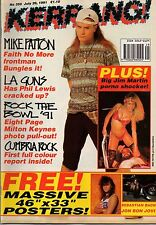 Mike Patton on Kerrang Cover 1991    Jon Bon Jovi    Sebastian Bach