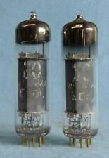 2 Philips Miniwatt E80L 6227 SQ Vacuum Tubes Gold Pins Amplitrex Tested Holland