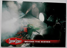 CAPTAIN SCARLET - Individual Trading Card #50, Behind The Scenes - Unstoppable