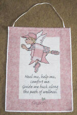 Prayeries Angel ~ Breast Cancer Awareness Tapestry Bannerette Wall Hanging