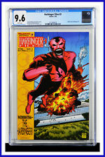 Harbinger Files #2 CGC Graded 9.6 Valiant February 1995 White Pages Comic Book