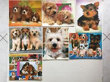 Lot  7  Cartes Postales Géantes   CHIENS  CHIOTS   Dogs  Postcards  24x30cm