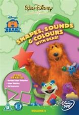 Bear in The Big Blue House Shapes Sounds and Colours Region 4 DVD