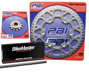 PBI 13-52 Chain/Sprocket Kit for Suzuki DR 250S 1990-1992
