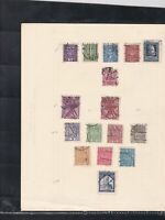 poland stamps page ref 18019