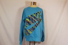 Women's Light Blue Nike Pullover Sweat Shirt - Size LG