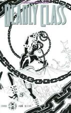 DEADLY CLASS #28 COVER D SPAWN MONTH B&W VARIANT IMAGE COMIC NEW 1