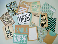 """'SNAPSHOT' PROJECT LIFE CARDS BY KAISERCRAFT -  pack of 16 - 3"""" x 4"""""""