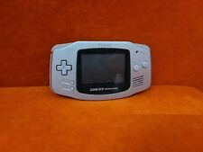 Rare Nintendo Gameboy Advance ~ Silver / Platinum ~ AGB-001 ~ Tested & Working