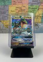 SHIPS SAME DAY Pokemon Card NM/M Rayquaza GX 109/168 Holo 2018 Ultra Rare Dragon