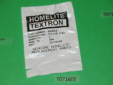 Genuine HOMELITE 64083 filter, fuel gas element SEZ 150 Super XLao, XL12 350 360