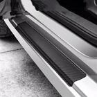Car Door Sill Scuff Parts Accessories Carbon Fiber Vinyl Plate Sticker Protector