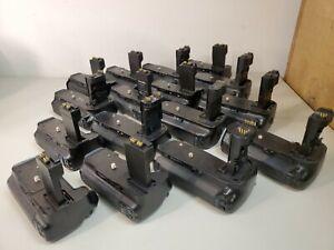 Lot of 16 Vertical Battery Grip for Camera Meike, Zeikos, Vivitar, Vello Working