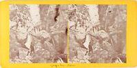 FRANCE Cuise-la-Motte Gorge du Han Photo Stereo Vintage Citrate PL62L11 n5