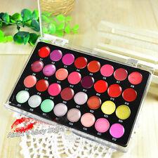 Mini Profession 32 Color Cosmetic Lip Lipsticks Gloss Makeup Palette Set kit