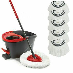 4 x EasyWring & Clean TURBO Nachfüll Moppkopf Ersatzkopf für Vileda Wischmop Neu