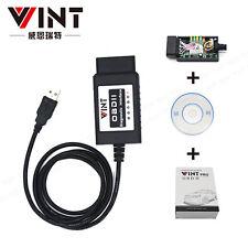 ELM327 USB V1.4 FTDI FT232RL+2480 Chip OBD2 VINT Auto Diagnostic Scanner