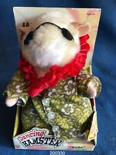 Vintage 1st Series 2003 Gemmy Dancing Hamster Jimbo Limbo Rock New in Box Works