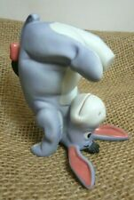 Disney Pooh & Friends Eeyore Porcelain Figure, Some Days Look Better Upside Down