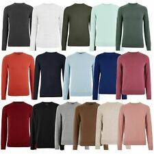 Mens M&S Crew Neck Jumper Long Sleeve Knit Marks & Spencer Sweater Pullover Top