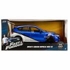F&F Brians SUBARU IMPREZA WRX STI Fast & The Furious model 1:24 JADA TOYS 99514