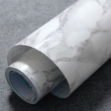 New Marble Effect Contact Wall Self Adhesive Peel Stick Rolling Paper Decor