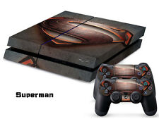 Sony PS4 Console and Controller Skins -- Superman (#51)