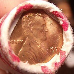 UNC Rouleau (50) Banque Enveloppé États-unis 1977-P Lincoln Centimes