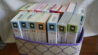 Cricut Cartridges -Boxed ALL NOT LINKED LARGE VARIETY of Titles - MORE A thru L