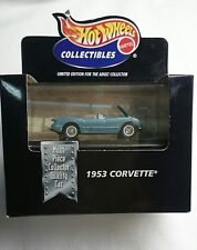 1998 HOT WHEELS DIE CAST COLLECTIBLES 1953 CORVETTE NIB** LIMITED EDITION