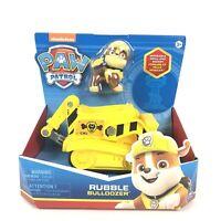 New Nickelodeon Paw Patrol Dog Rubble Bulldozer