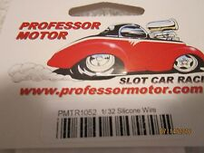 Professor Motor 1/32 Silicone Wire With Ends Pmtr1052