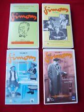 LOT DE 4 CASSETTES  VHS  -  SIMONS  - LE PAGNOL DU NORD