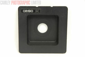 Cambo SC Recessed Lens Board Copal #0 34.6mm (C-228). Graded: EXC+ [#9976]