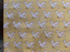 Dove Peace Hope Faith Religious Christmas Cotton Fabric BTHY