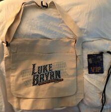 LUKE BRYAN TOUR VIP MERCHANDISE - VIP LAMINATE AND BAG
