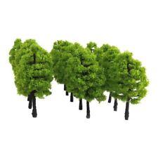 20pcs Scenery Landscape Train Railroad Model Trees Scale 1:100 Green